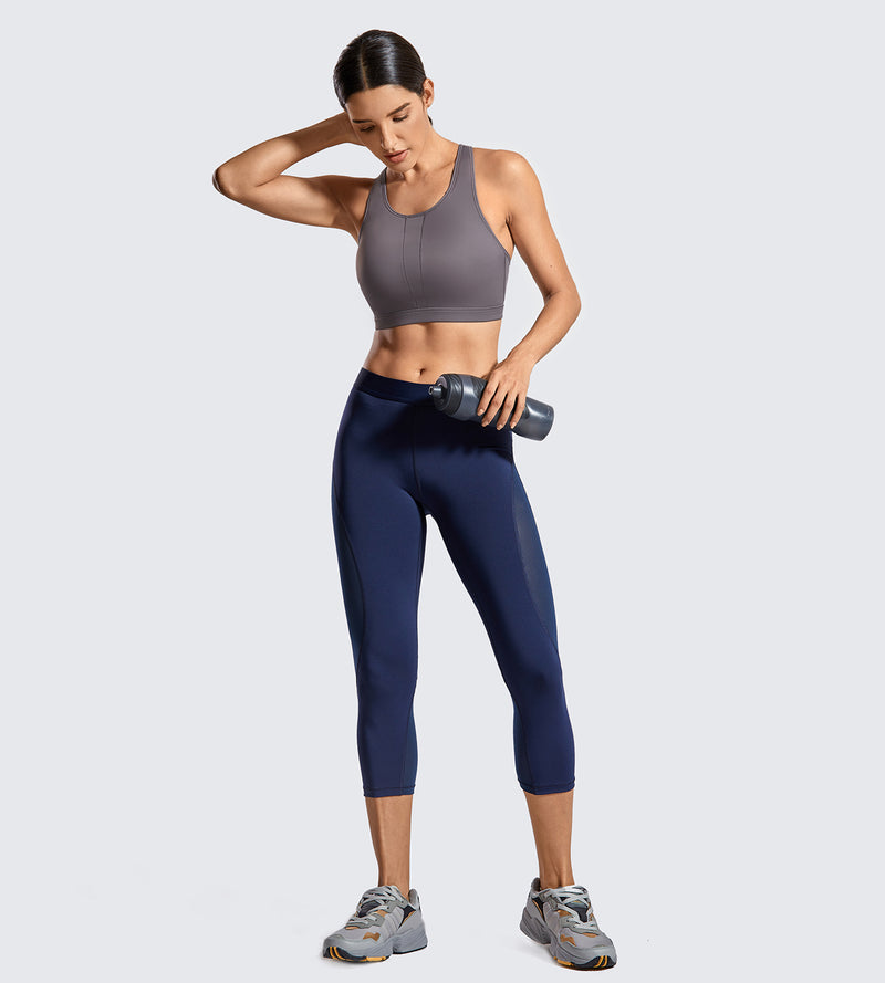 High Impact Active Padded Sports Bra