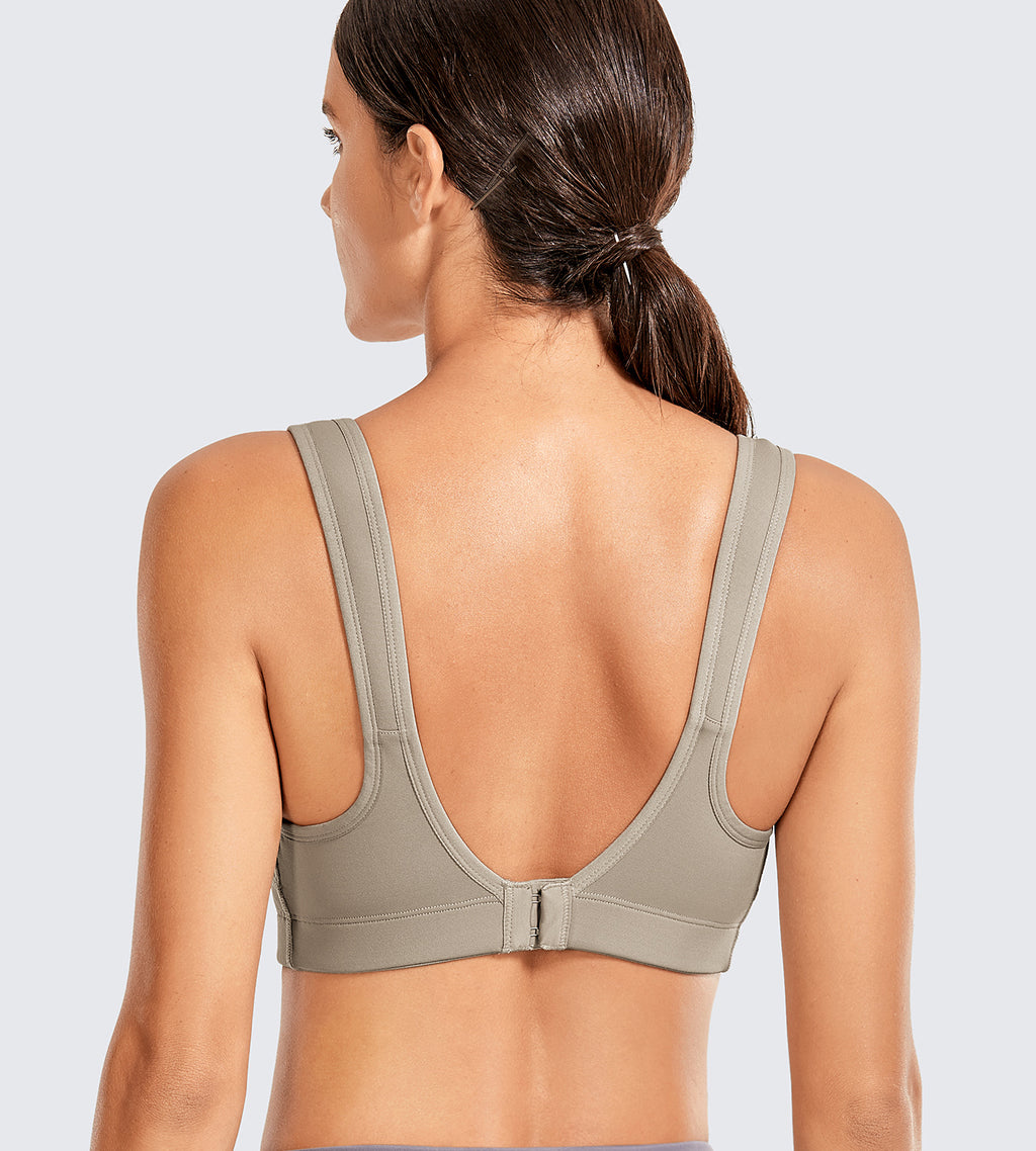 Front Adjustable High Impact Sports Bras