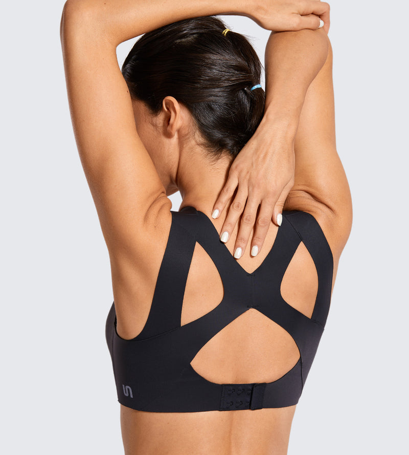 High Impact Seamless Racerback Sports Bra