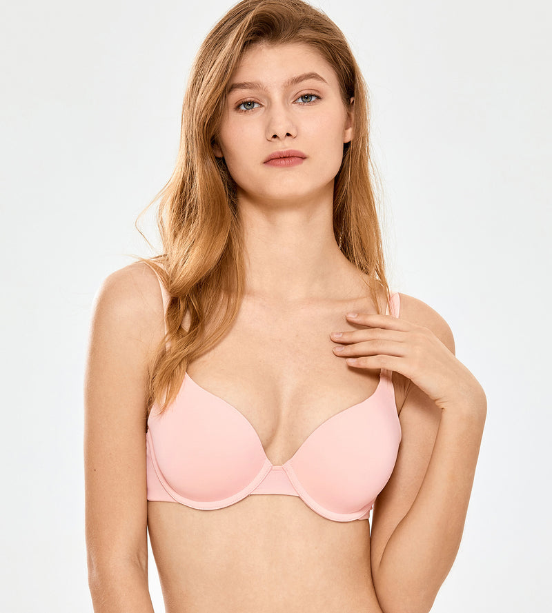 Smooth Tshirt Underwire Push Up Bra