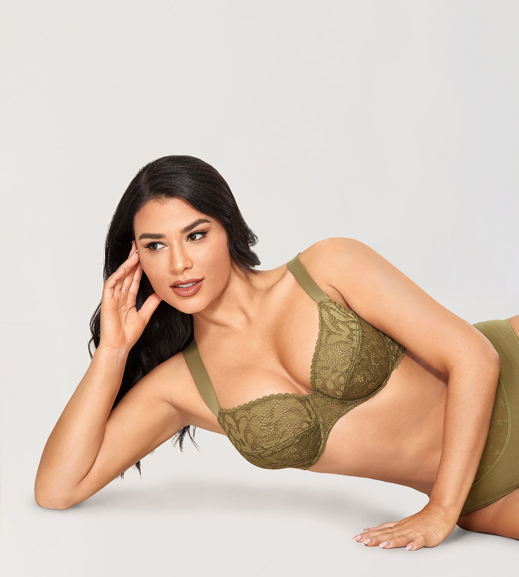 CACTUS Wire Straps Lift Up Bra