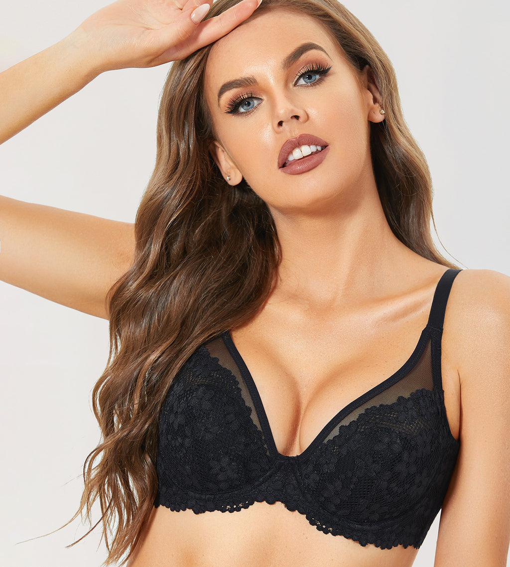 MONICA Lace Full Coverage Bra