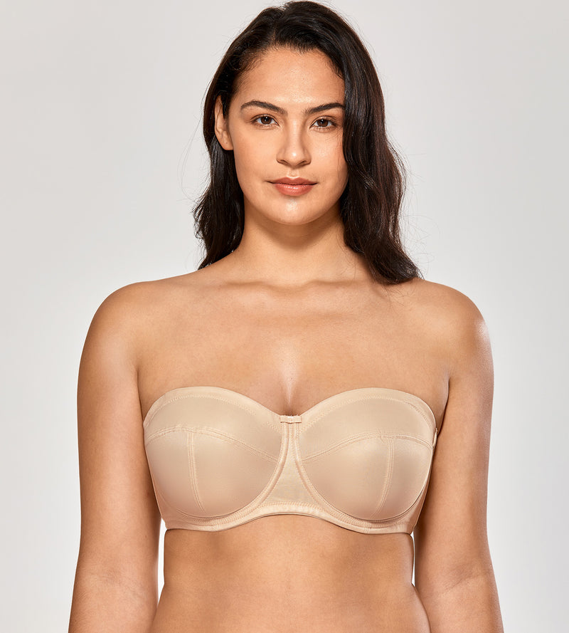 Ultra Support Plus Size Strapless Bra