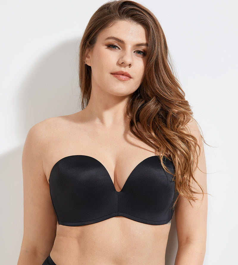 Lift Support Seamless Strapless Bra