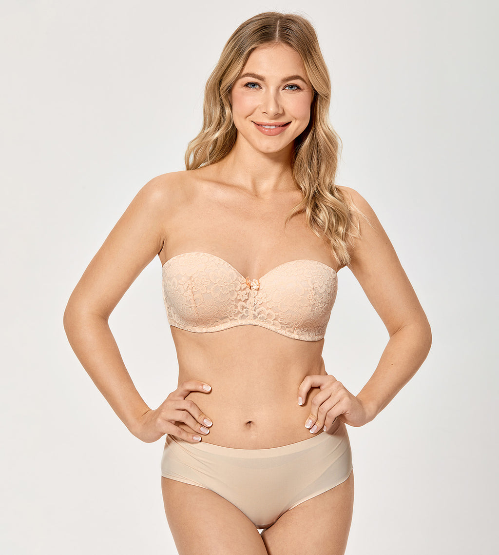Multiway Push Up Strapless Bra