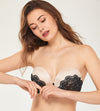 Push Up Lace Underwire Strapless Bra