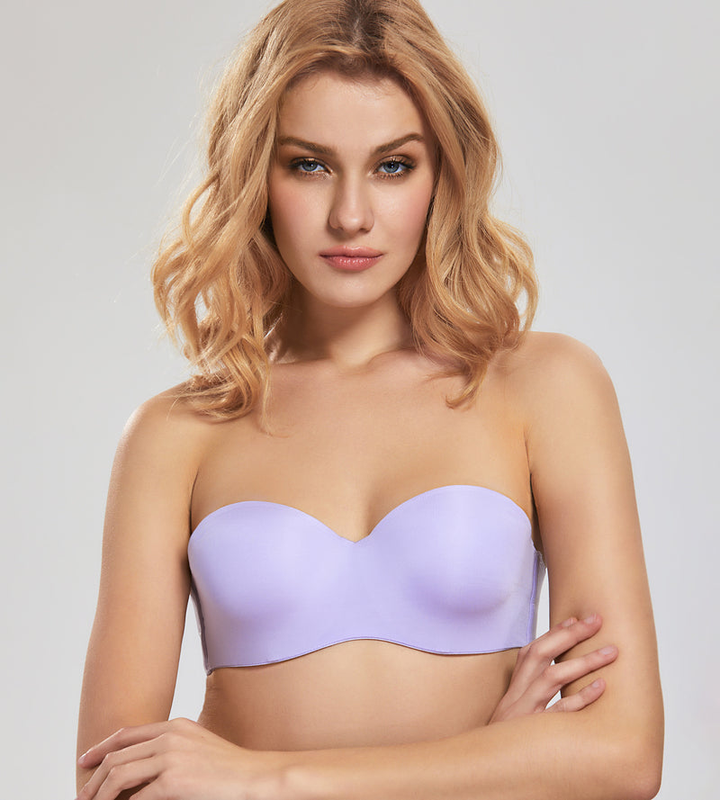 Smooth Padded Underwired Strapless Bra