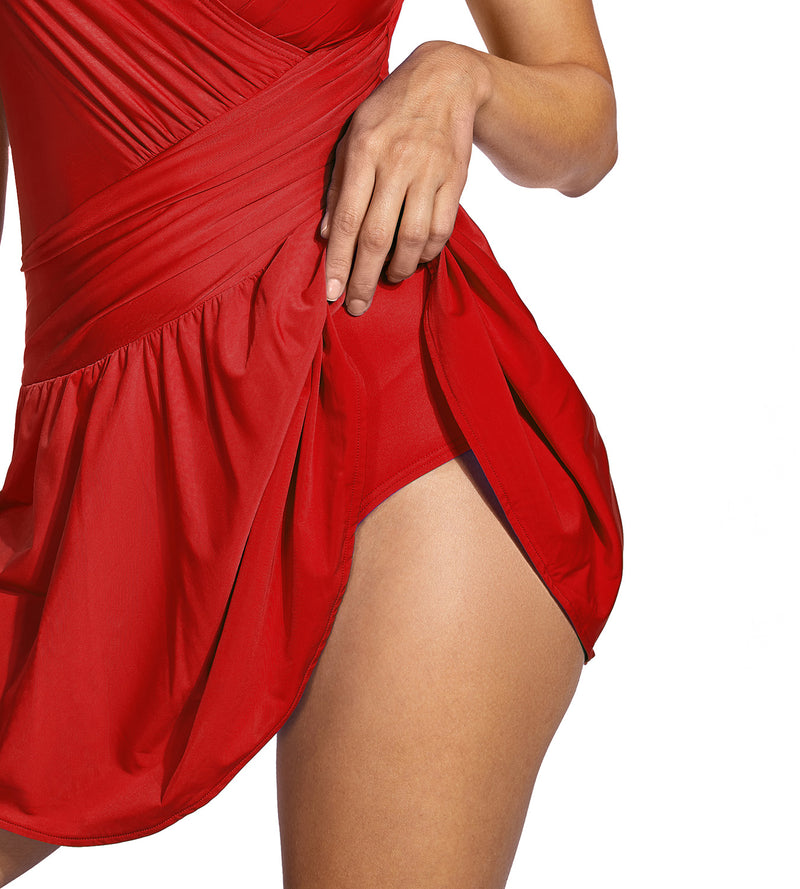 Tummy Control Plus Size Swimdress