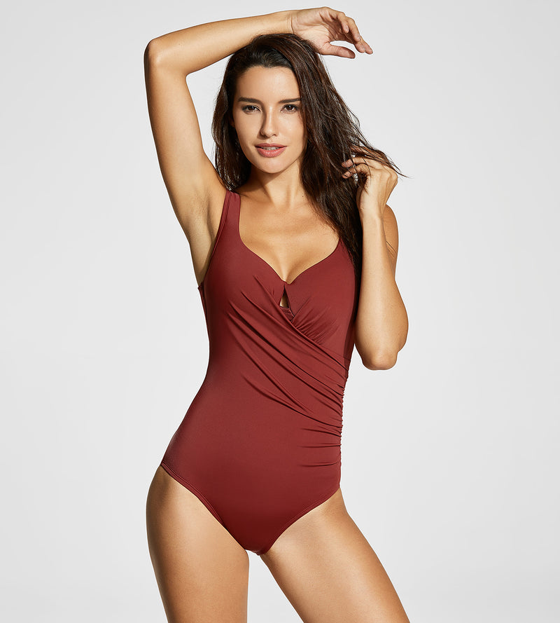 Vintage Padded One Piece Swimsuit