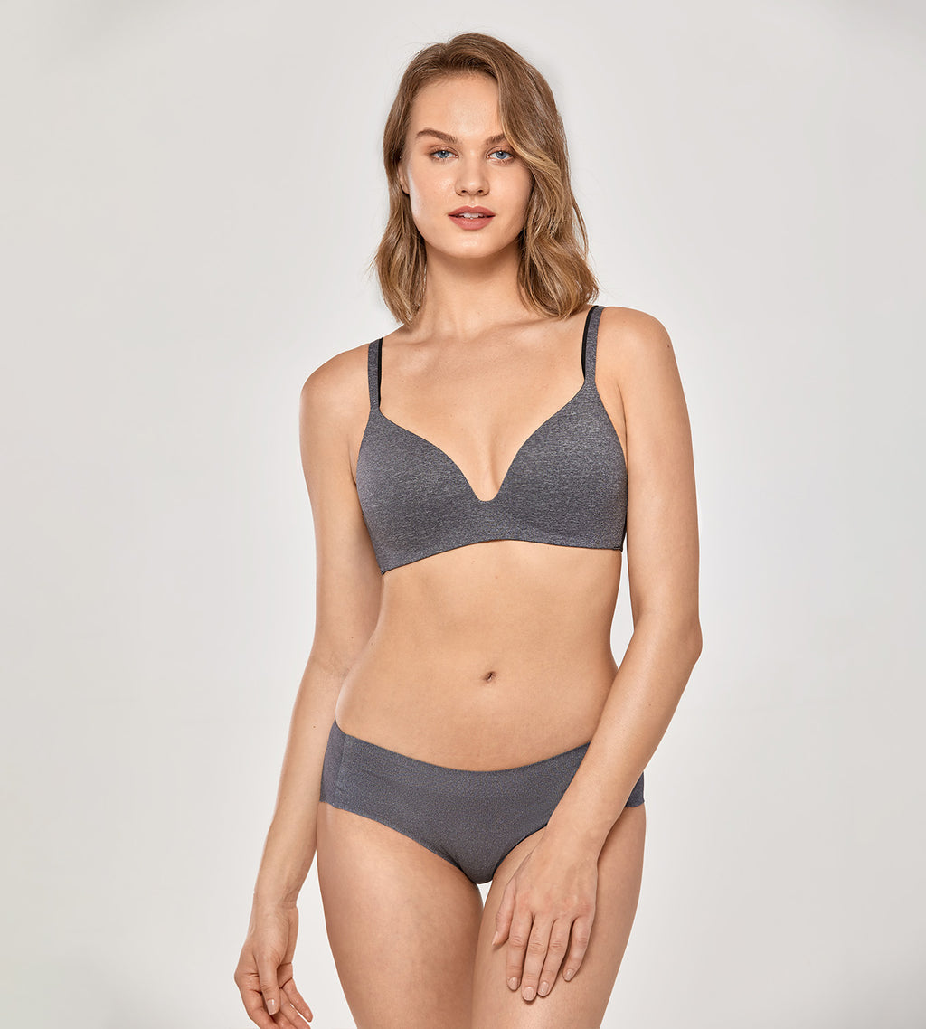 Seamless Wirefree Soft Foam Contour Bra