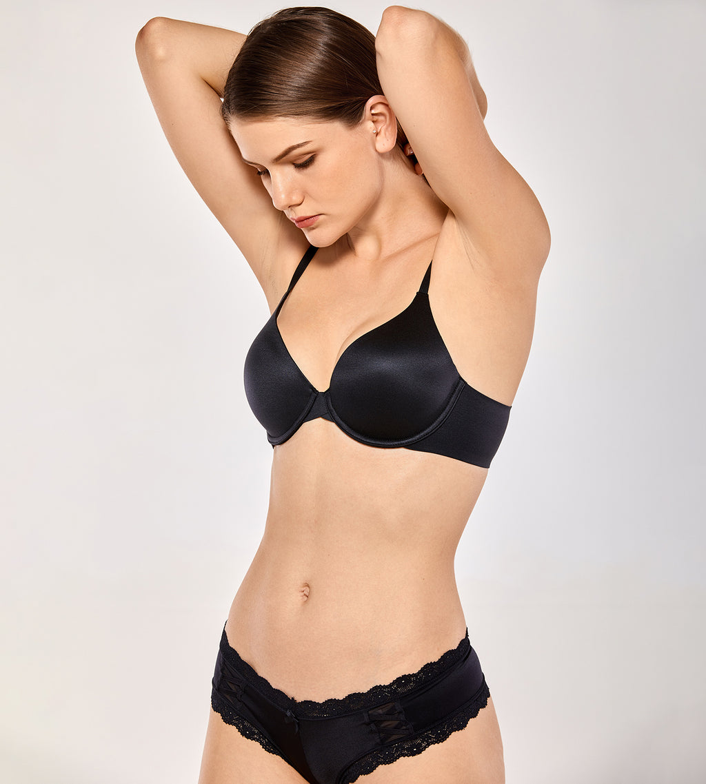 Full Coverage Underwire T Shirt Bra