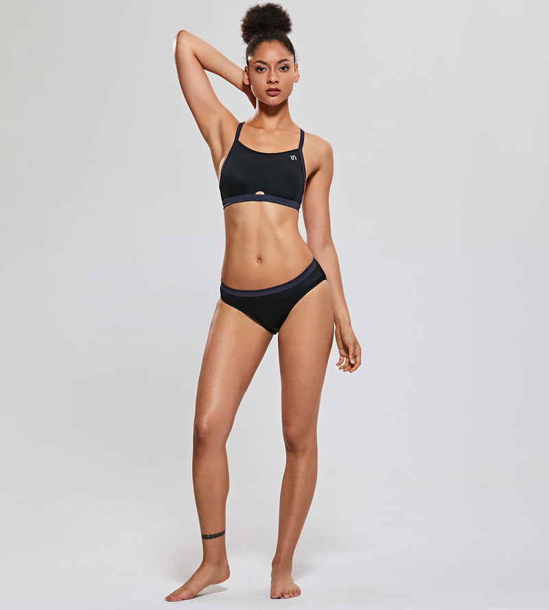 Athletic Bikini Set Workout Swimsuit