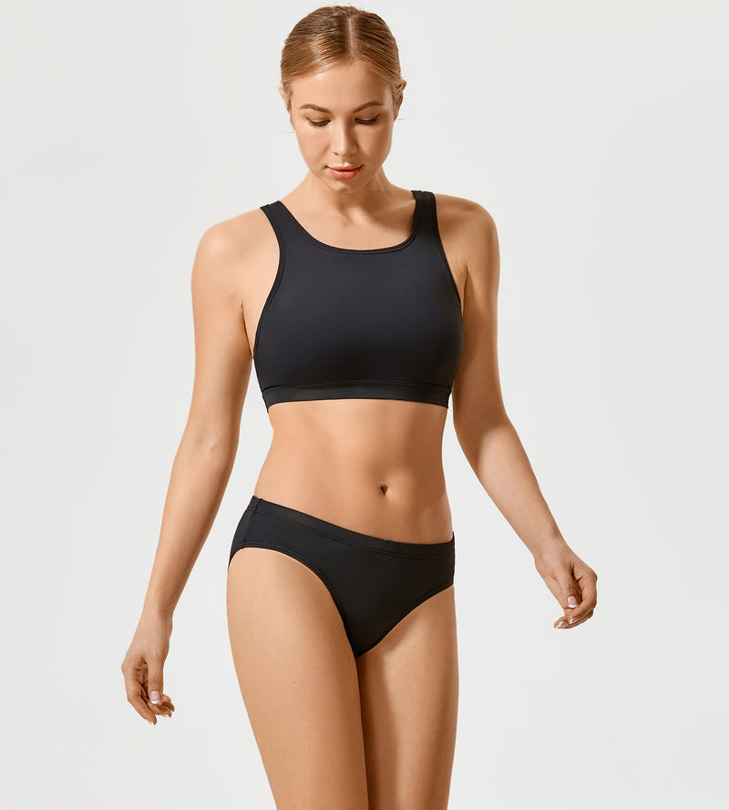 Athletic Racerback Bikini Swimsuit