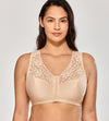 Lace Full Coverage Front Closure Bra