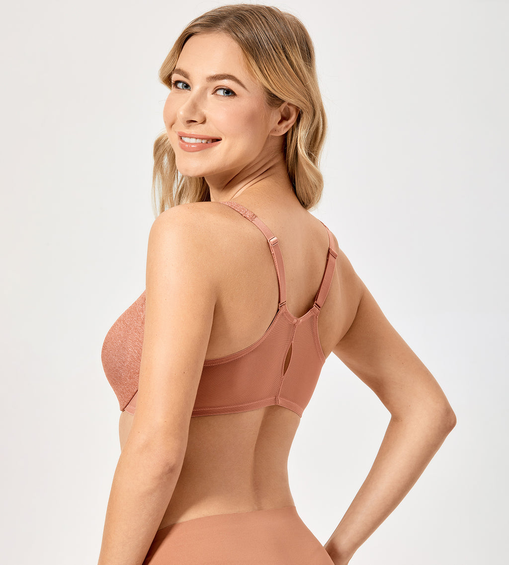 Comfort Full Coverage Front Closure Bra
