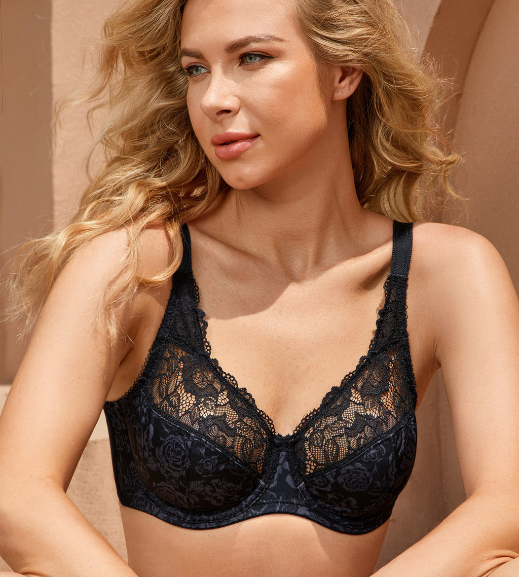 Secret Rose Underwire Bra