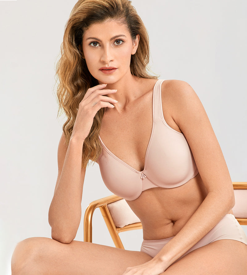Smooth Underwire Minimizer Bra