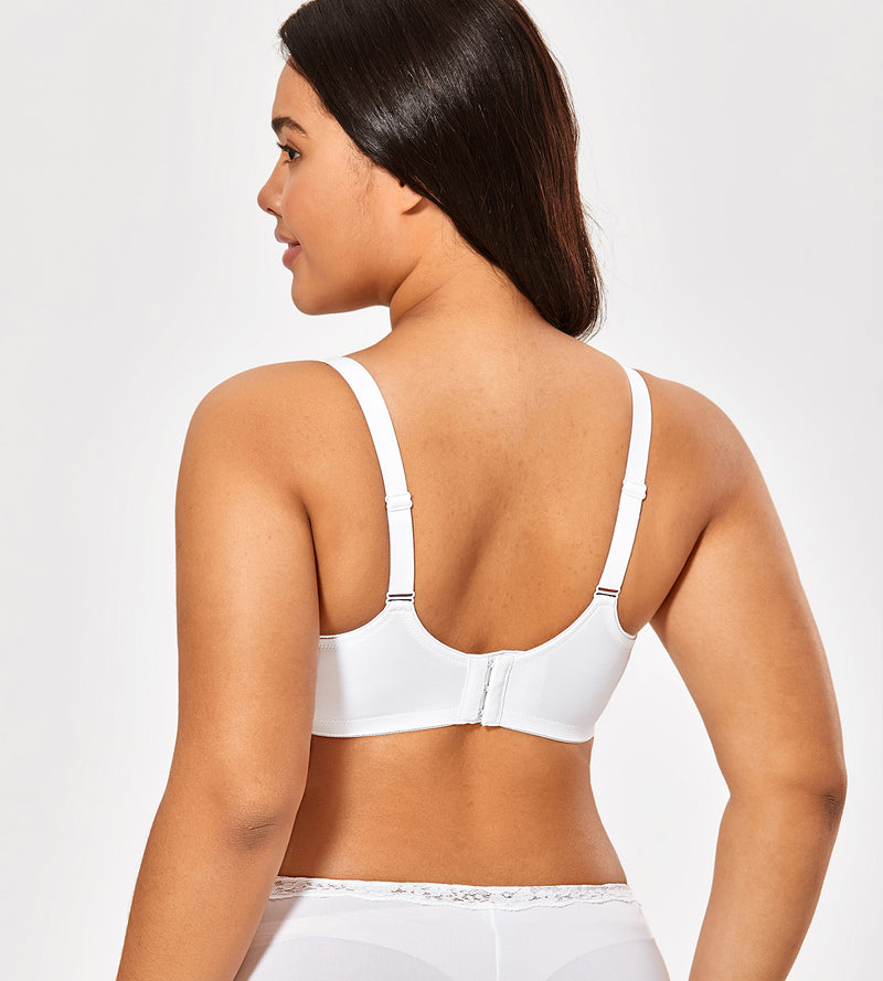Full Coverage Plus Size Minimizer Bra