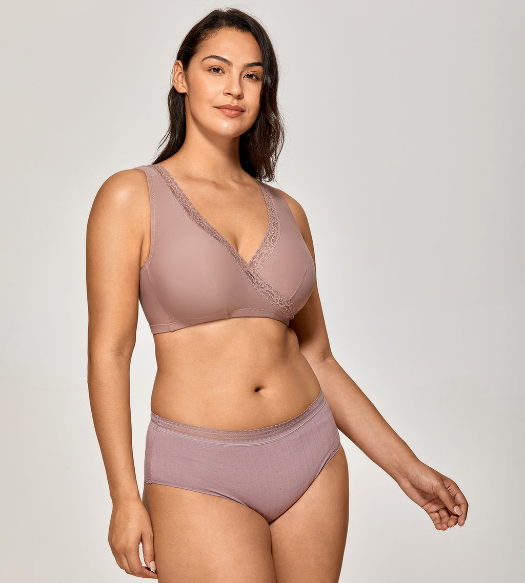 Gentle Comfortable Nursing &Sleep Bra