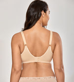 Wirefree  Plus Size Cotton Bra