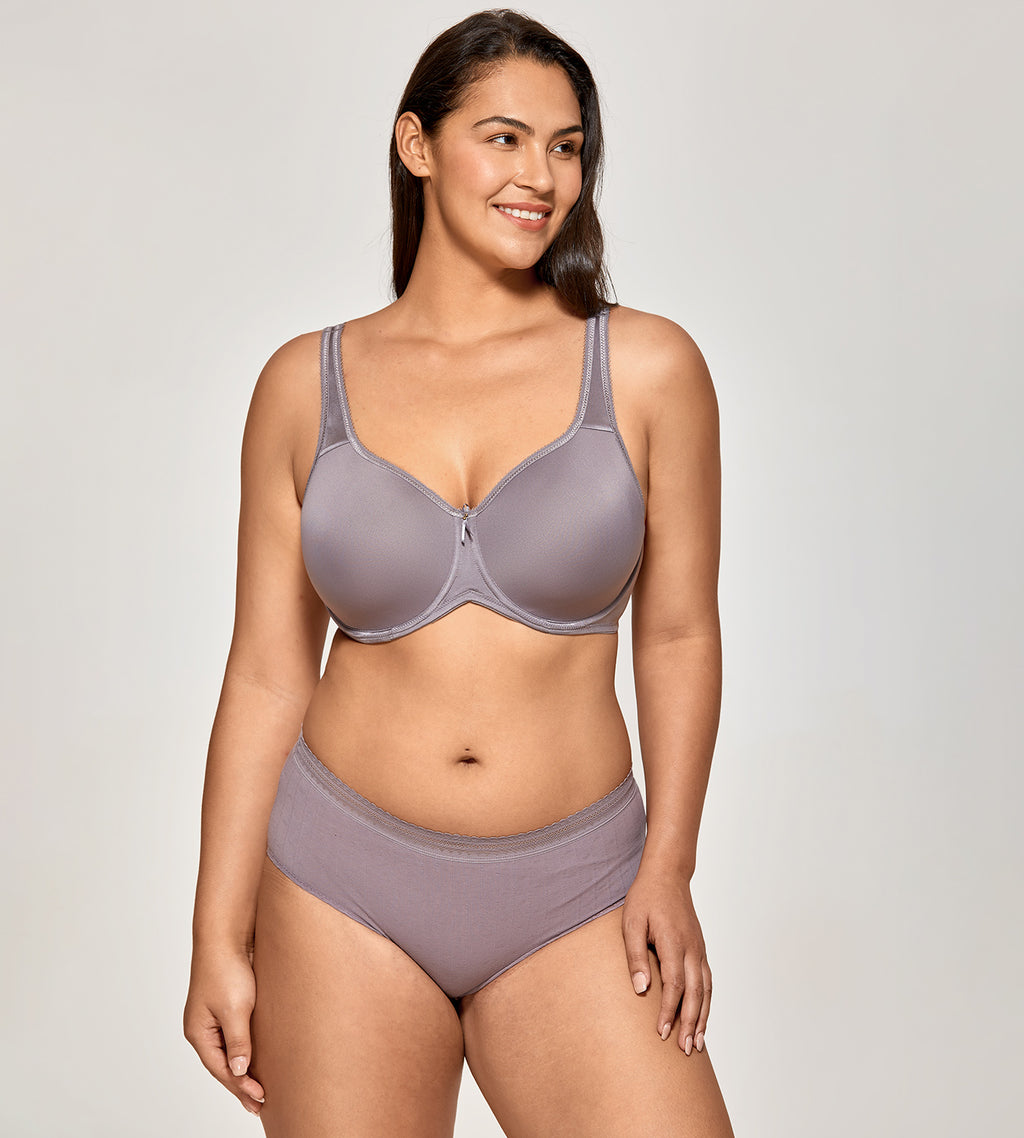 Lightly Padded Underwire T-Shirt Bra