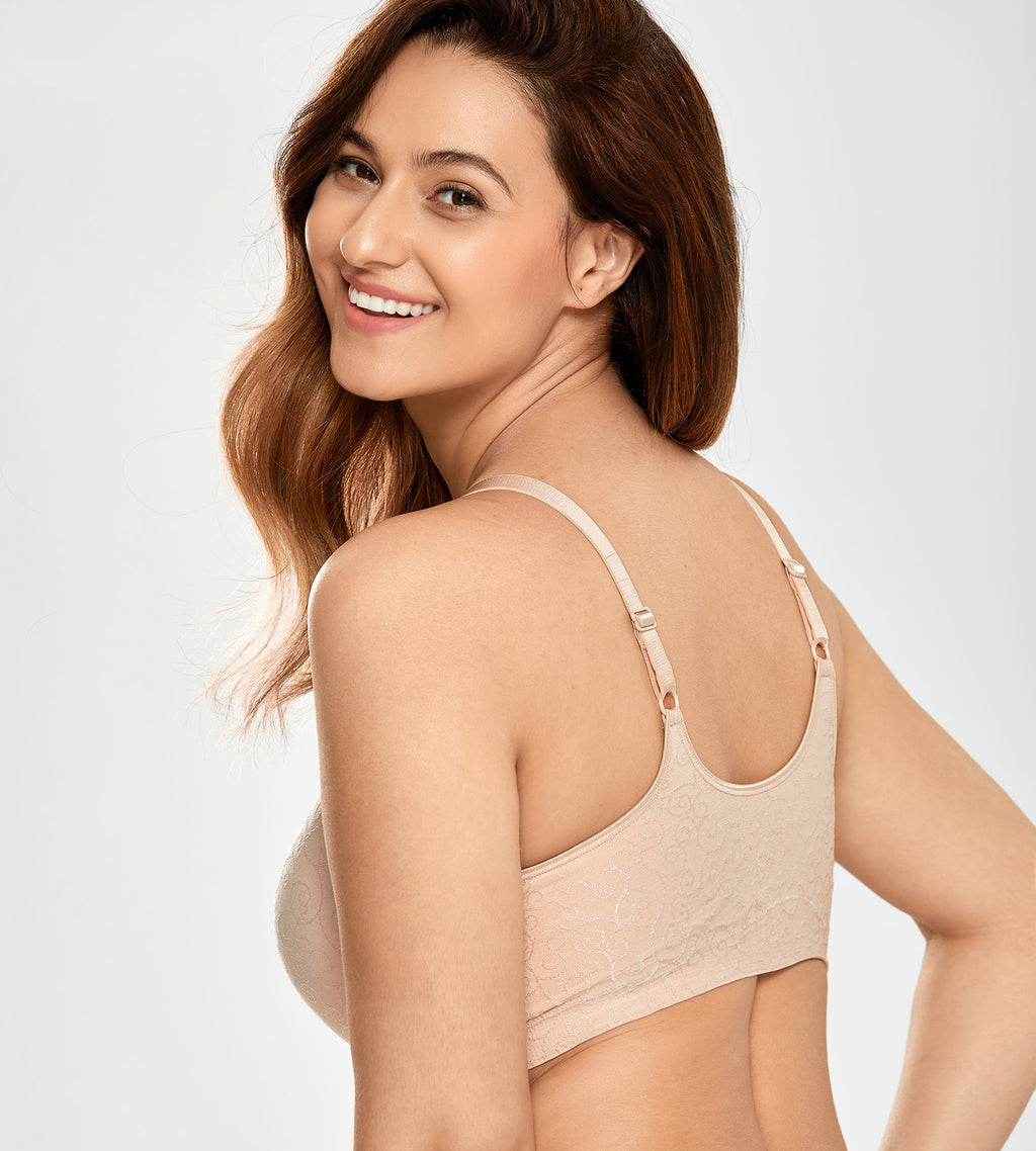 Jacquard  Lightly Lined Shaping Bra