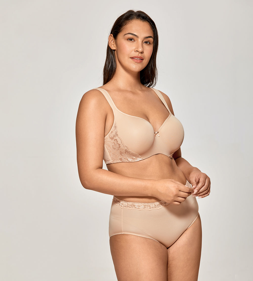 Smooth Underwire Balconette Bra