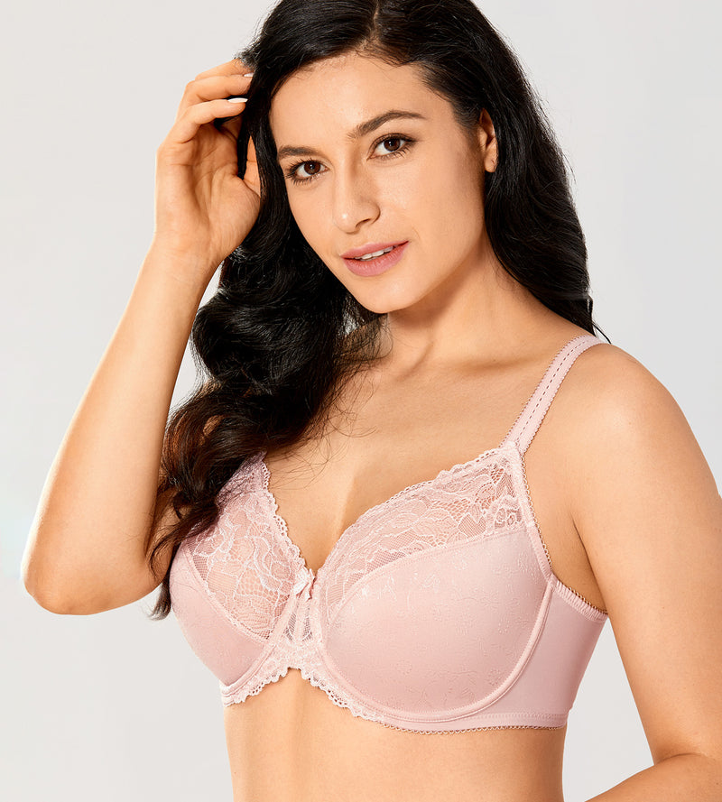Lace Full Covergae Underwire Bra