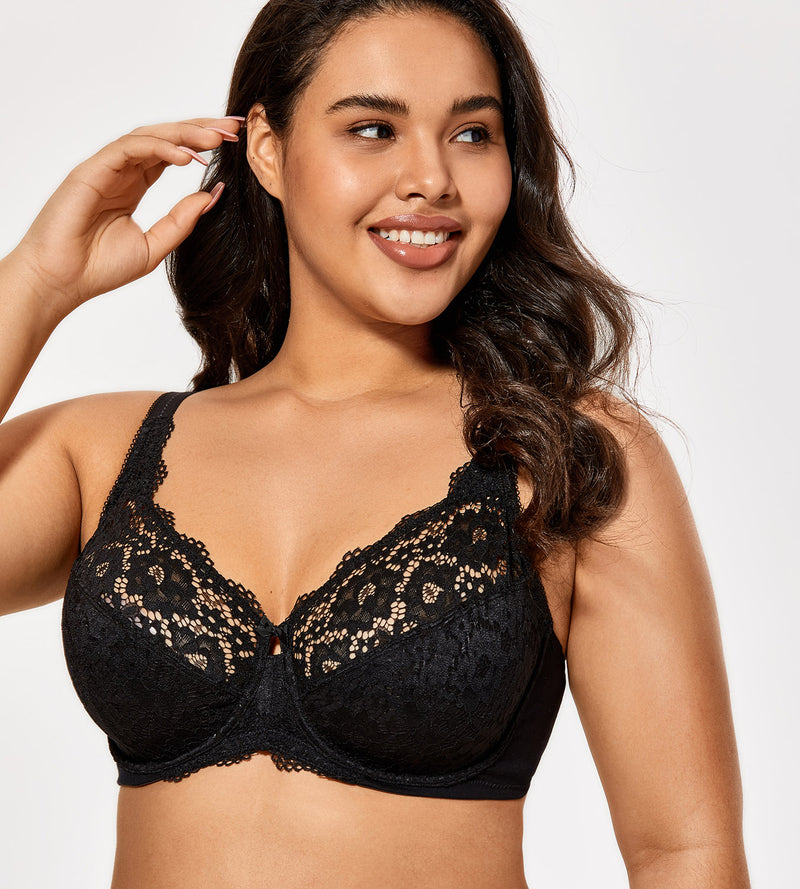 Lace Non-Padded Underwire Bra