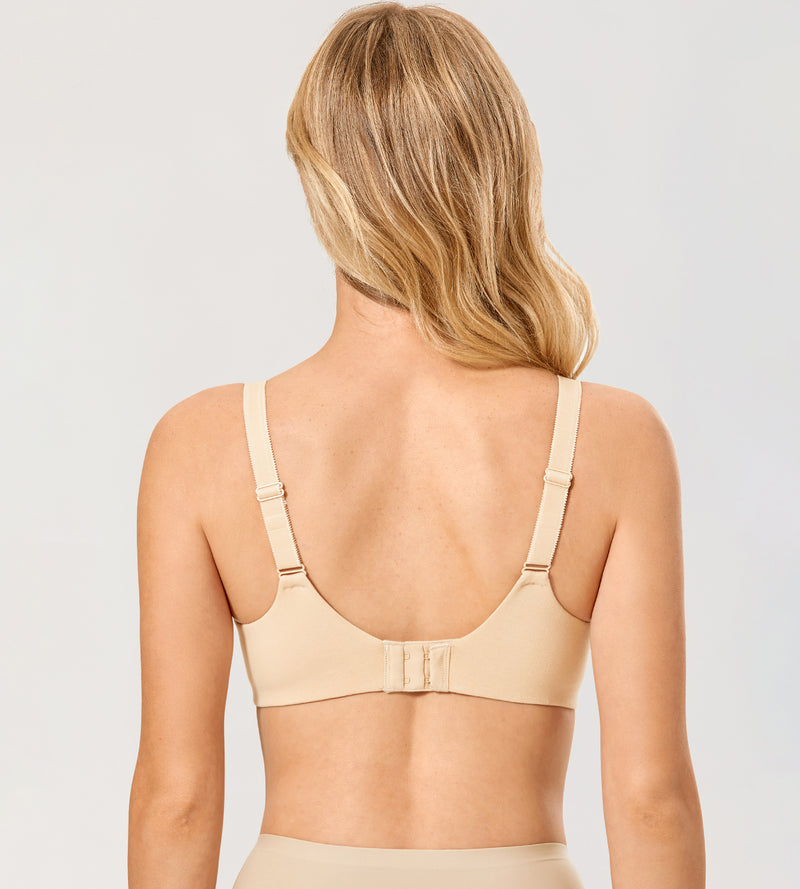 Comfort Cotton Underwired Bra
