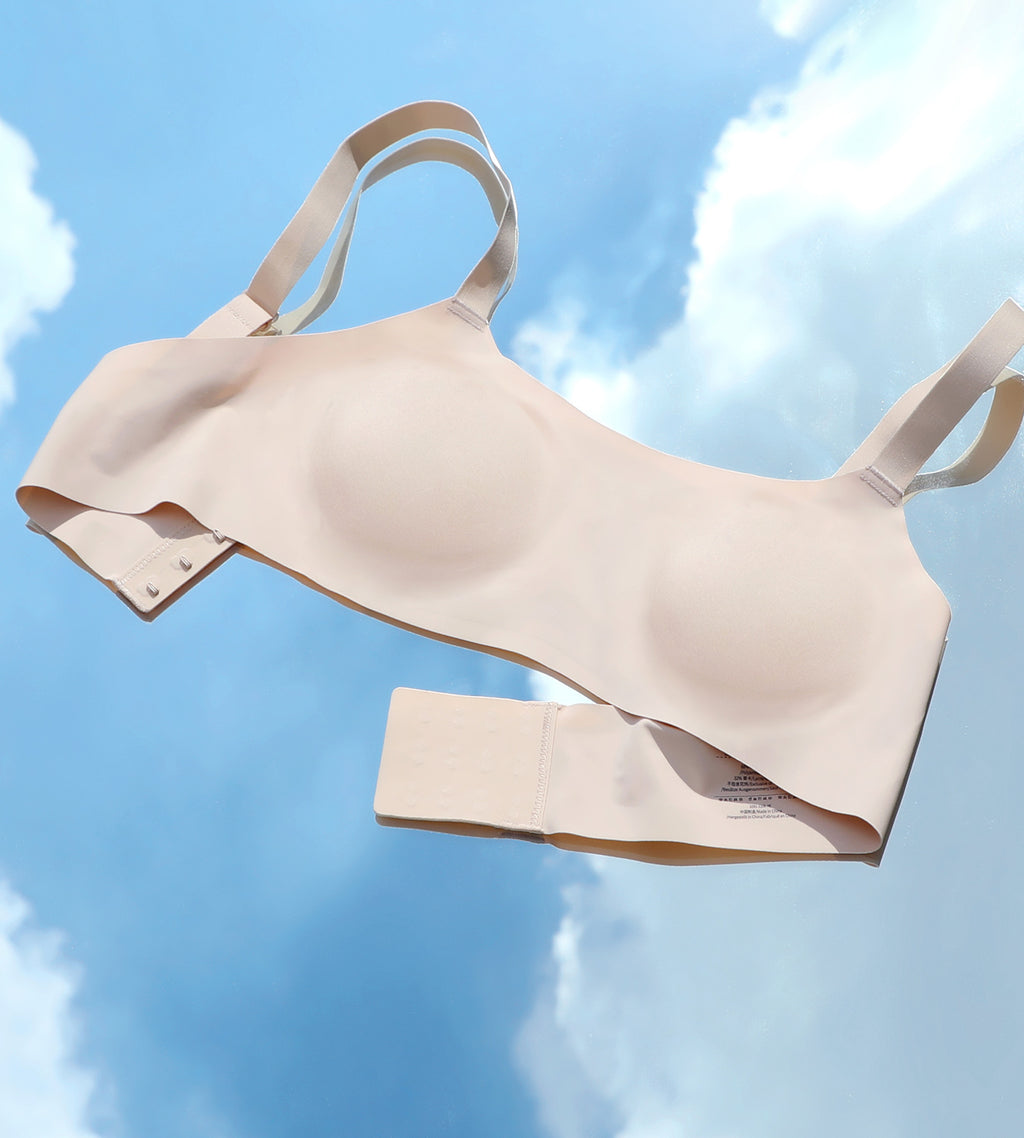 Seamless Removable Padded Wireless Bra