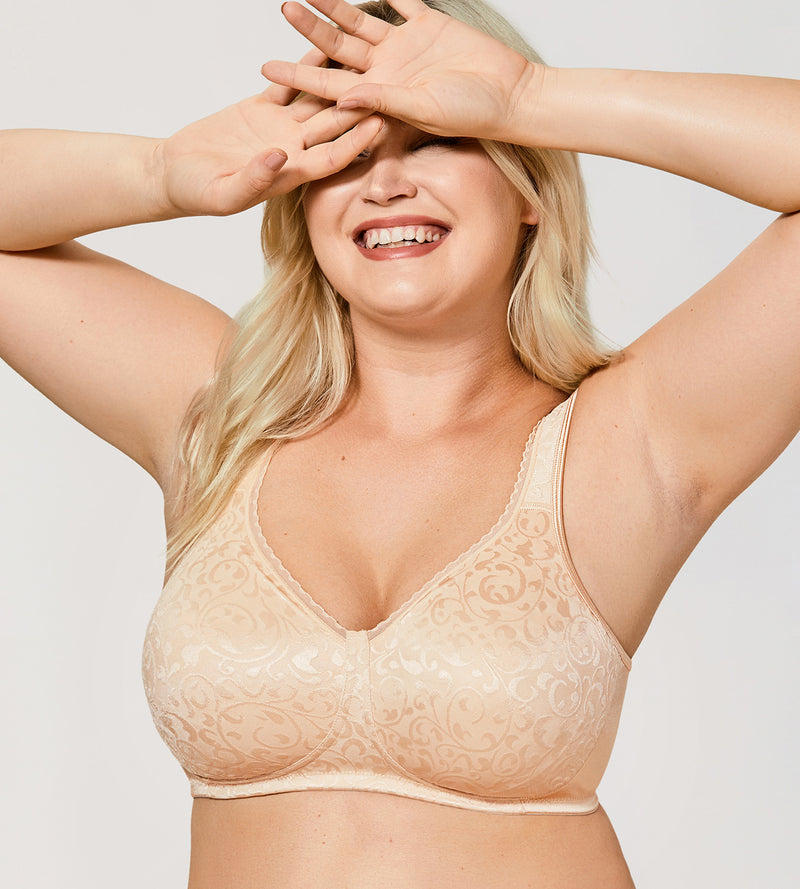 Comfort Plus Size Wireless Bra
