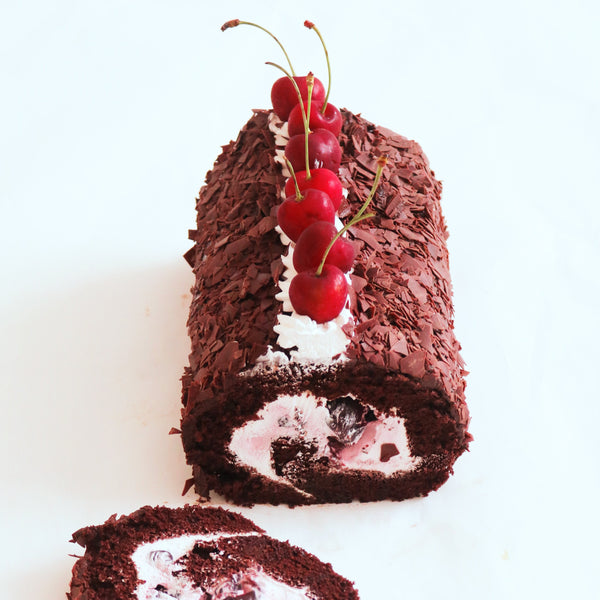 CHOCOLATE CHERRY ROLL