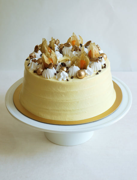 PUMPKIN & FRUIT SPONGE