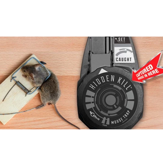 Hidden Kill Mouse Traps-24 per case