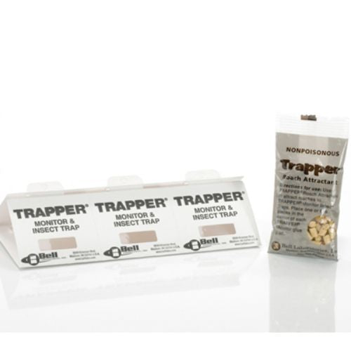 TRAPPER Monitor and  Insect Trap with Roach Tablets Product Image
