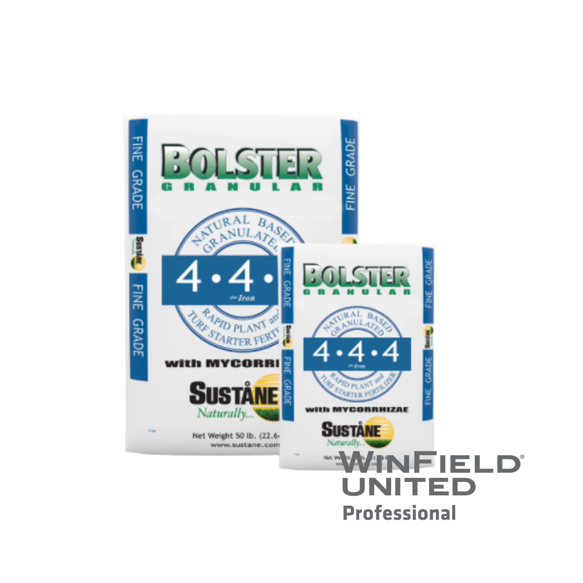 Sustane Bolster 4-4-4 + Iron with Mycorrhizae