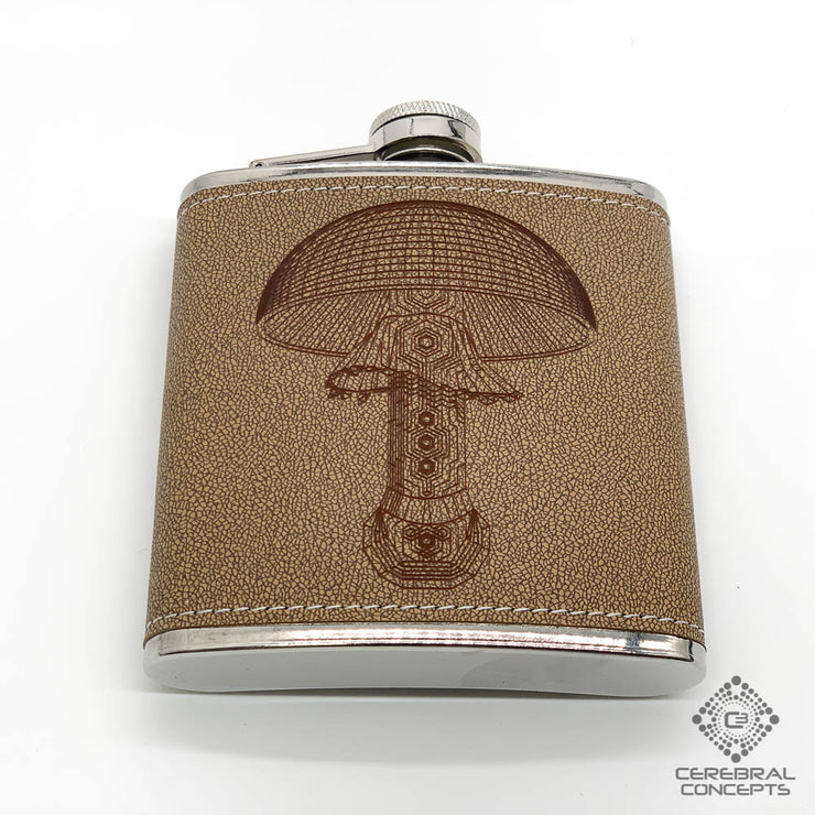 Mushroom - Flask - By MechMastter Mike