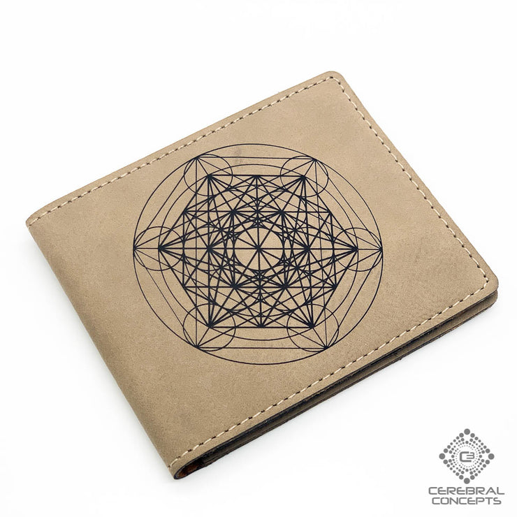 Metatron's Wheel - Wallet - By Cerebral Concepts