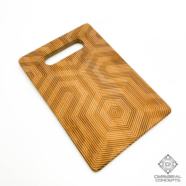 Frequency - Bamboo Tray - By Cassady Bell
