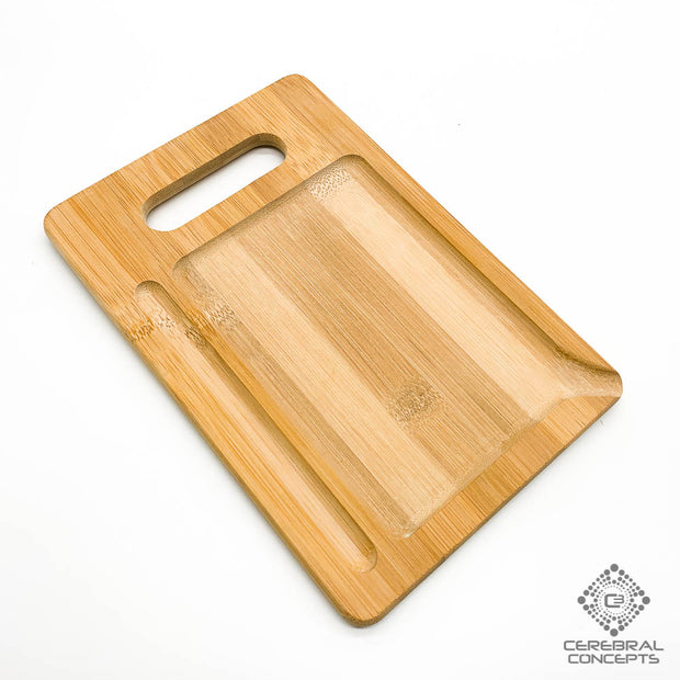Optic Triangulation - Bamboo Tray - By Cassady Bell