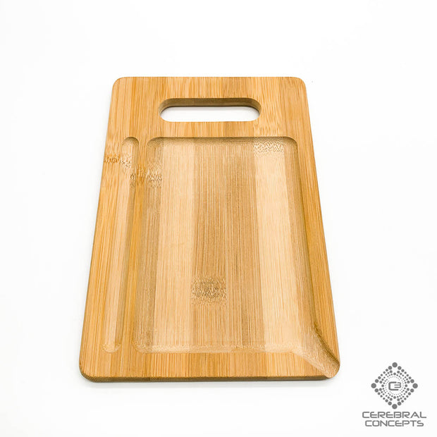 Floral Pattern - Bamboo Tray - By Randal Roberts