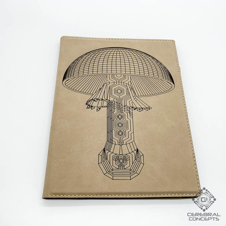 Mushroom - Notebook / Sketchbook - By MechMaster Mike