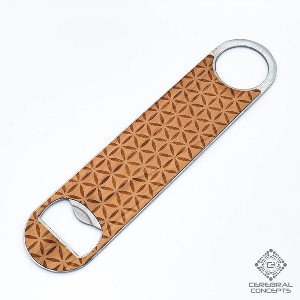 Flower Of Life - Bottle Opener