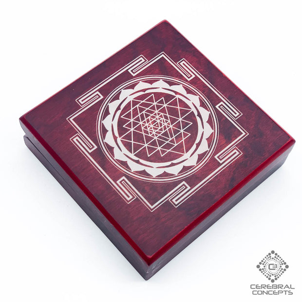 Sri Yantra - Treasure box - By Cerebral Concepts