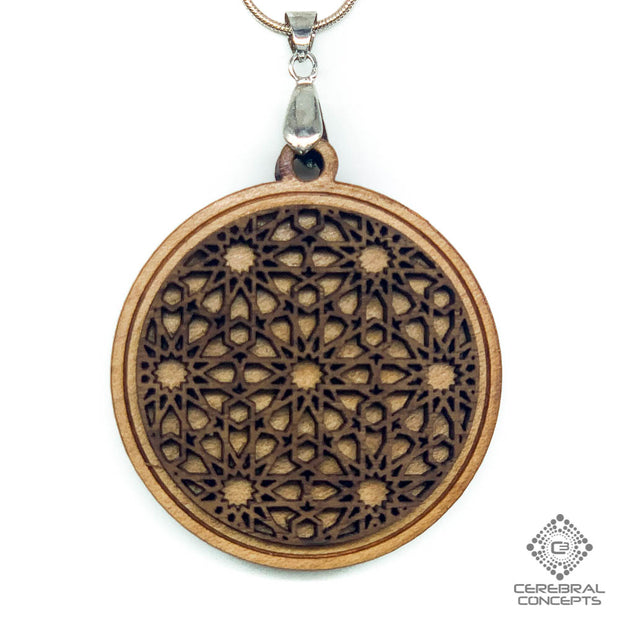 Islamic Knotwork - Two Layer Necklace - By Decah