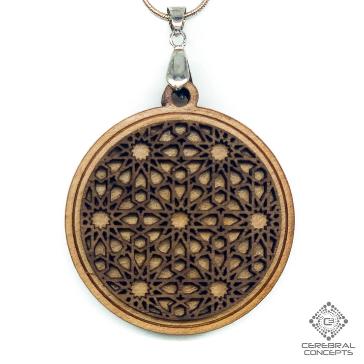 Islamic Knotwork - Two Layer Necklace - By Generate Art