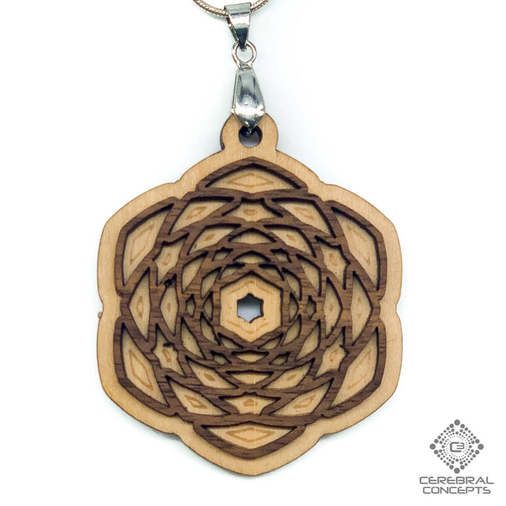 Pineal Pinecone  - Two Layer Necklace