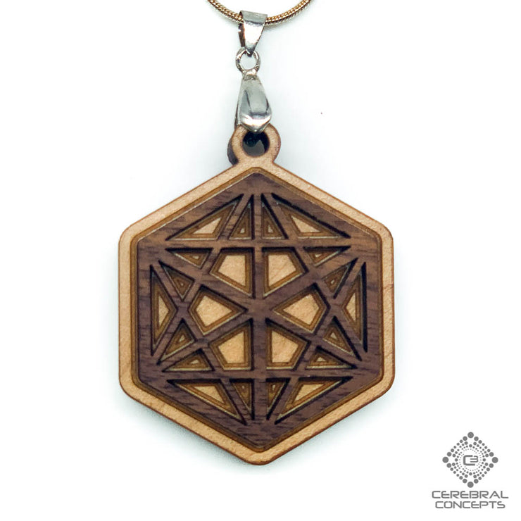 Hex Star - Two Layer Necklace - By Cerebral Concepts