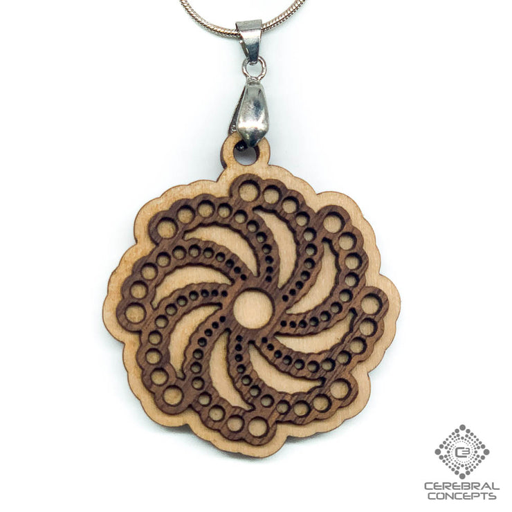 Crop Circle  - Two Layer Necklace - by Cerebral Concepts